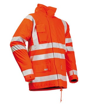 Lyngsøe vinter regnjakke, Hi-Vis Orange