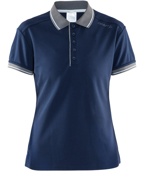 Craft Noble pique dame polo T-shirt, Marine