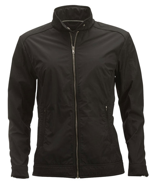 Cutter & Buck Dockside Damenjacke, Schwarz