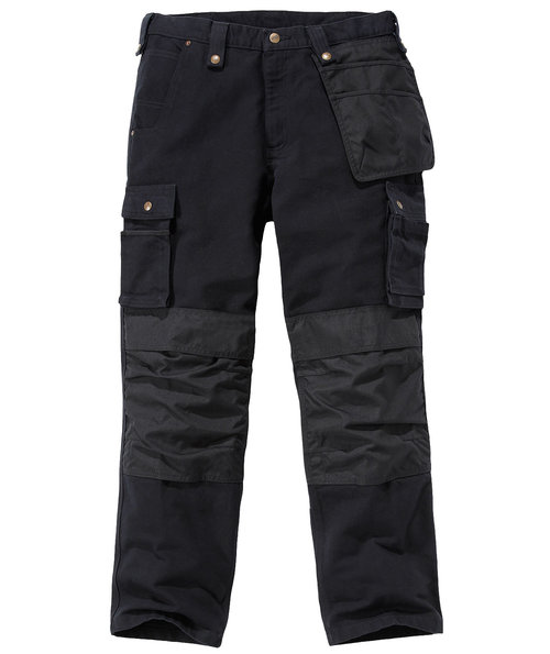Carhartt Multi Pocket Washed Duck Handwerkerhose, Schwarz