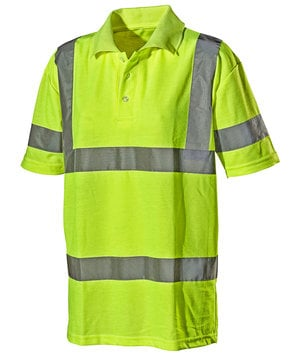 L.Brador polo shirt 4003P, Hi-Vis Yellow