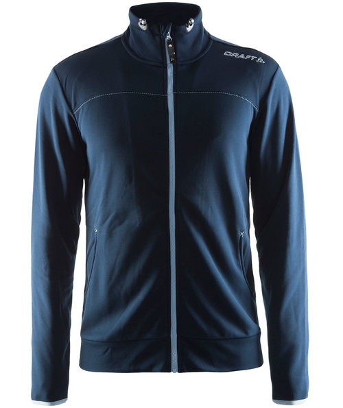Craft Leisure sweatjacket, Dark Navy