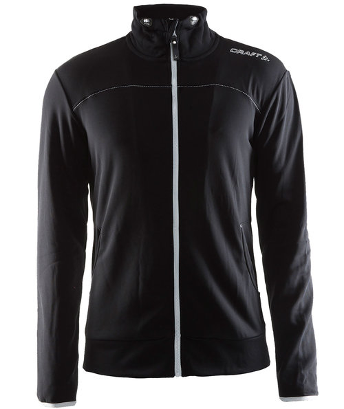 Craft Leisure sweatjacket, Black
