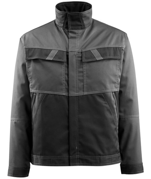 Mascot Light Dubbo work jacket, Dark Anthracite/Black