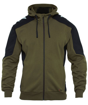FE Engel Galaxy hoodie, Forest Green/Black