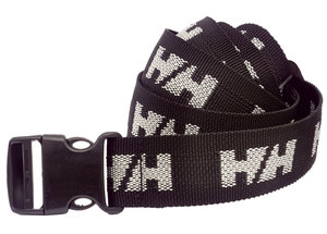 Helly Hansen WW logo belt, Black/White