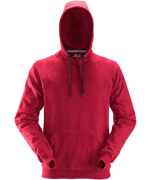 Snickers hoodie, Chili Red