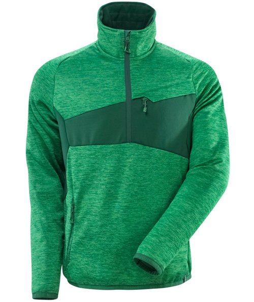 Mascot Accelerate fleece pullover, Grass Green/Green