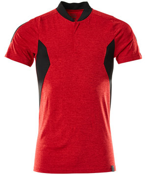 Mascot Accelerate Coolmax polo T-shirt, Signalrød/Sort