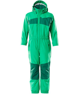 Mascot Accelerate snowsuit for kids, Grass Green/Green