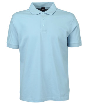 Tee Jays Luxury Stretch pikétröja, Sky Blue