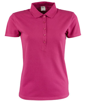 Tee Jays Luxury Stretch dame polo T-skjorte, Berry
