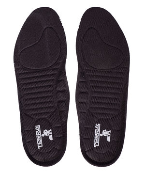 Terra insoles for boots, Black
