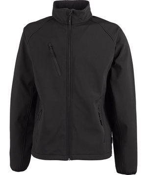 Tee Jays lightweight softshell jacket, Black