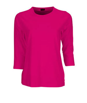 Jyden 3/4 sleeves T-shirt 100% cotton, Pink