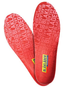 Blåkläder moldable insoles 2,5mm, Red