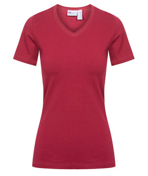 Clinic Dress dame T-shirt, Bordeaux