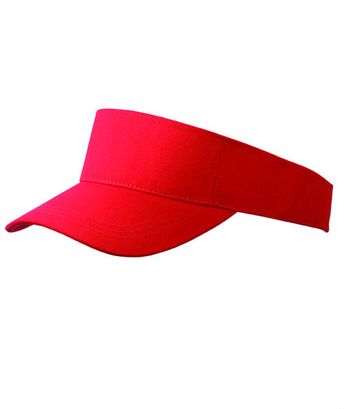 Myrtle Beach Fashion sunvisor, Red