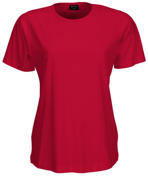 Jyden women's T-shirt, 100% cotton 180 grams, Red