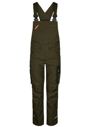FE Engel Galaxy dame overall, Forest Green/Sort