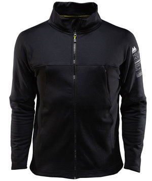 Monitor Midlayer Jacke, Caviar Black