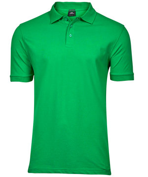 Tee Jays Luxury stretch polo T-shirt, Græsgrøn
