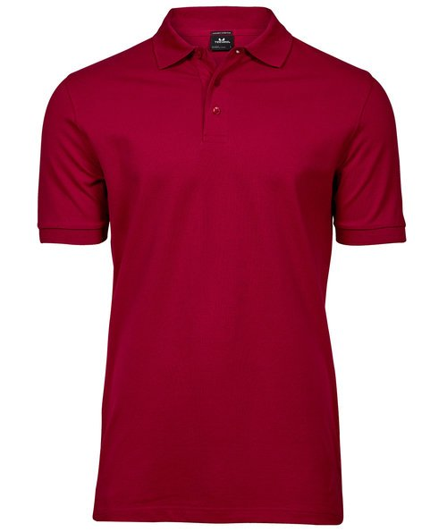 Tee Jays Luxury stretch polo T-shirt, Deep Red