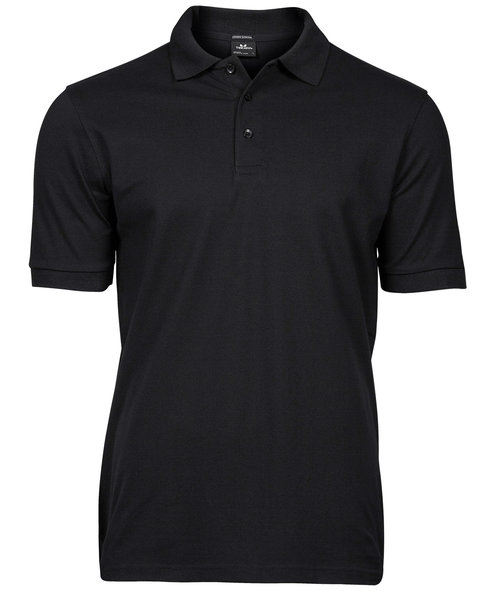 Tee Jays Luxury stretch polo T-shirt, Sort