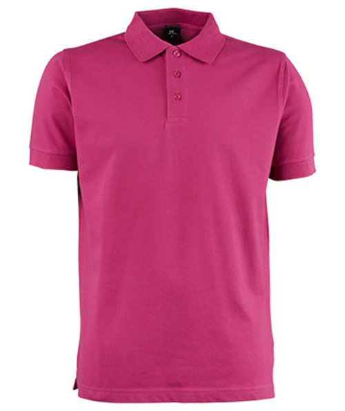 Tee Jays Luxury stretch polo T-shirt, Berry
