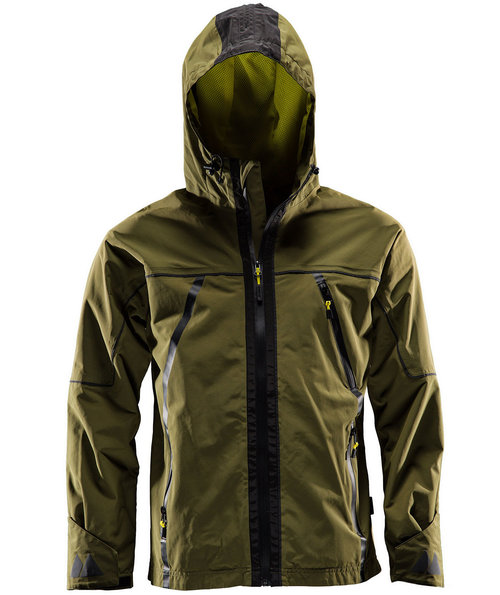 Monitor Shelljacke, Burnt Olive Green