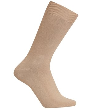 Claudio Cotton Stretch strømper, Camel