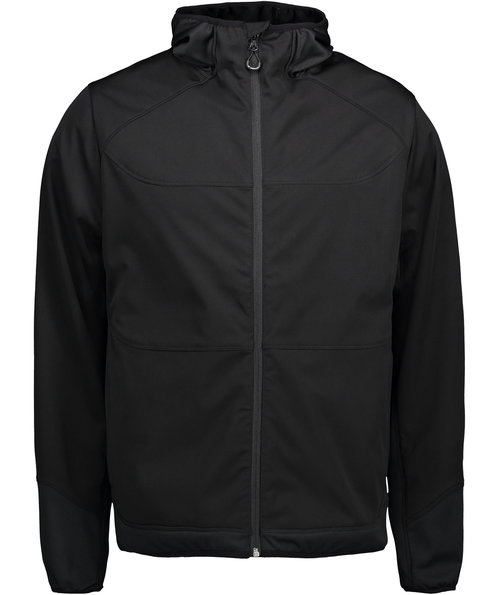 ID Combi Stretch softshell jacka, Svart