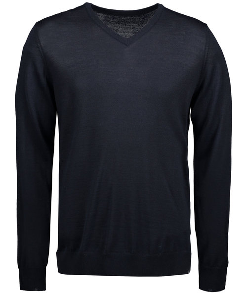 ID Classic stickad pullover, Navy