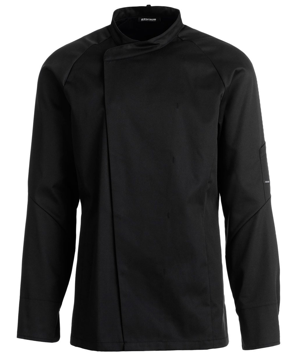 Kentaur unisex chefs jacket / serving jacket, Black