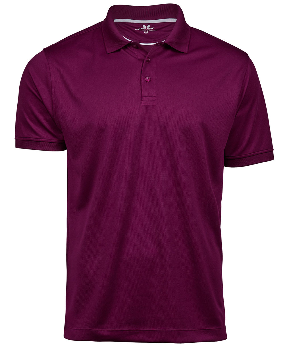 Tee Jays Performance polo T-shirt, Purple