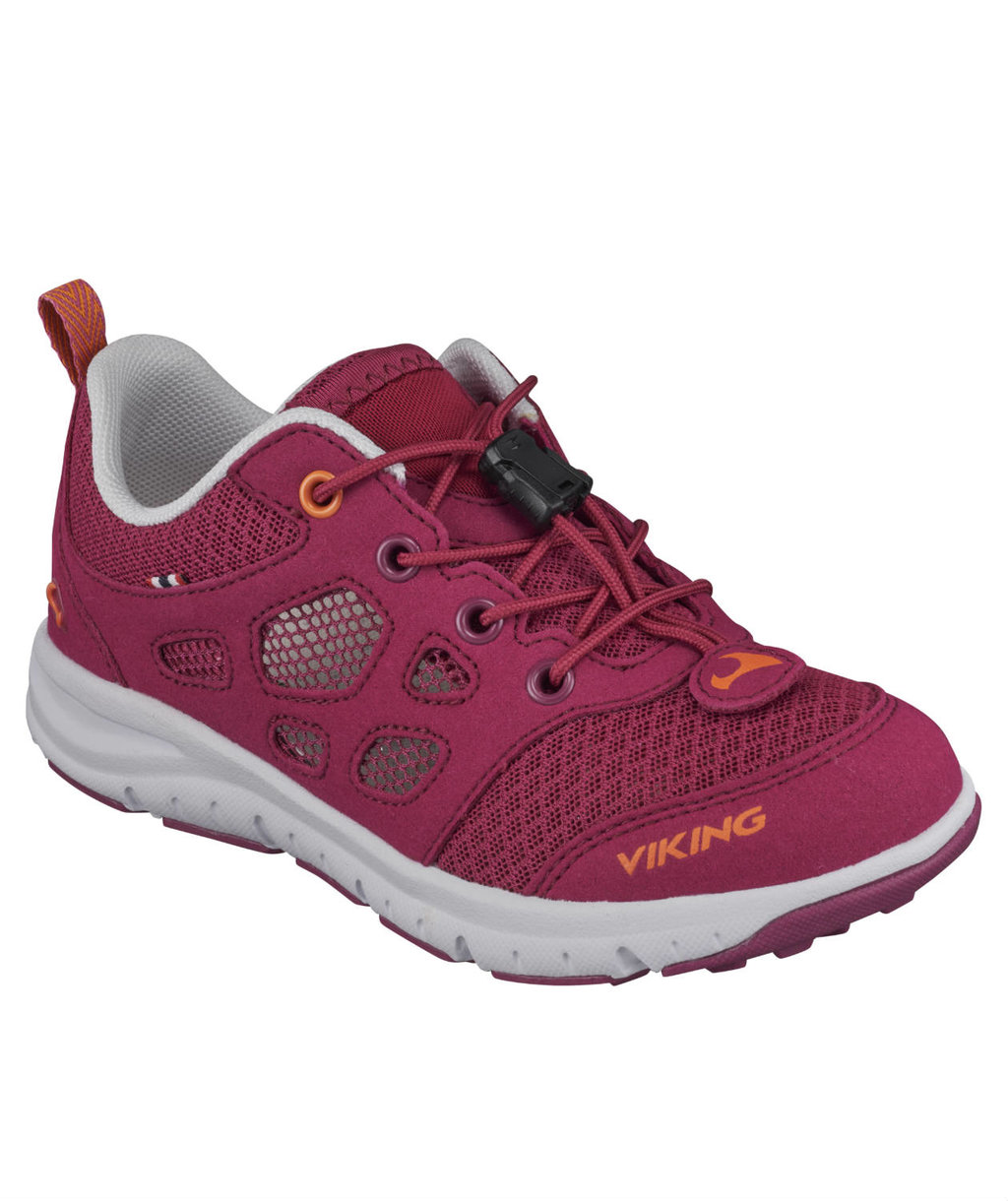 Viking Saratoga Air Sneakers für Kinder, Fuchsie/Orange