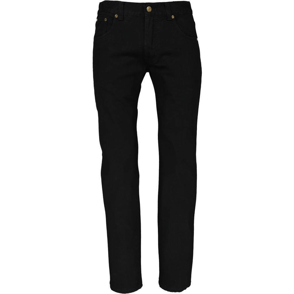 Roberto Jeans Reg. Fit uten stretch, Svart
