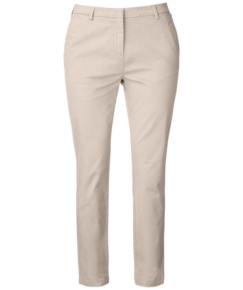 Cutter & Buck Bridgeport dame chino, Beige