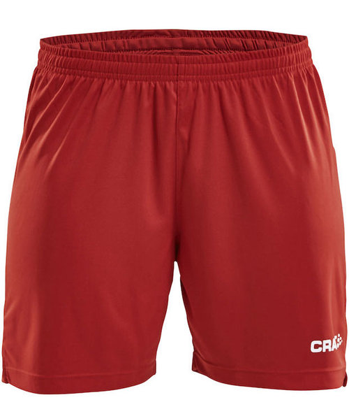 Craft Squad sport dame shorts, Rød
