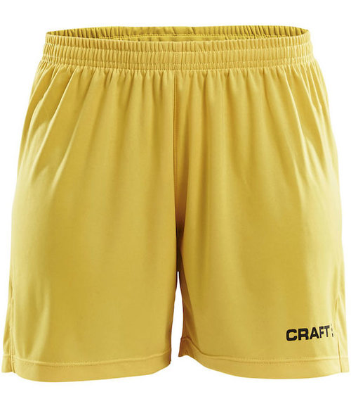 Craft Squad sport dame shorts, Gul