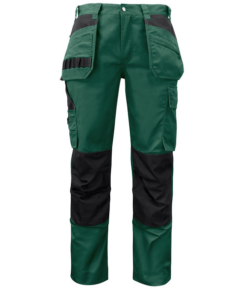 ProJob Prio craftsmens trousers 5531, Forest Green
