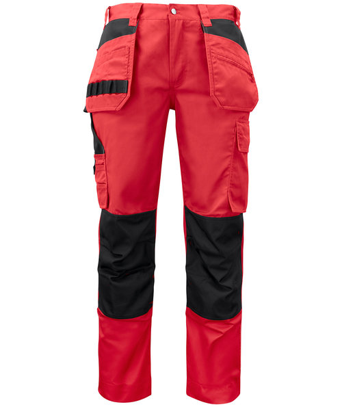 ProJob Prio craftsmens trousers 5531, Red