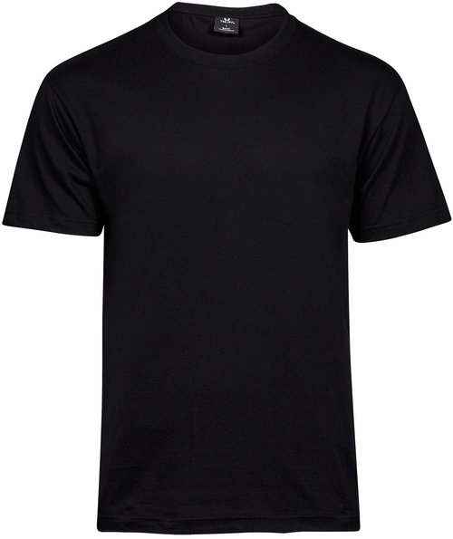 Tee Jays basic T-shirt, Svart