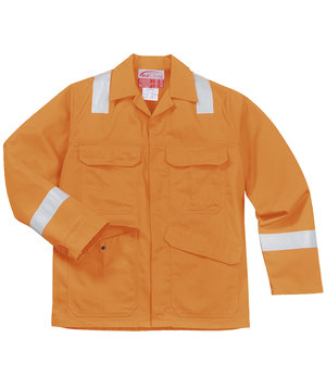 Portwest BizFlame Plus arbejdsjakke, Orange