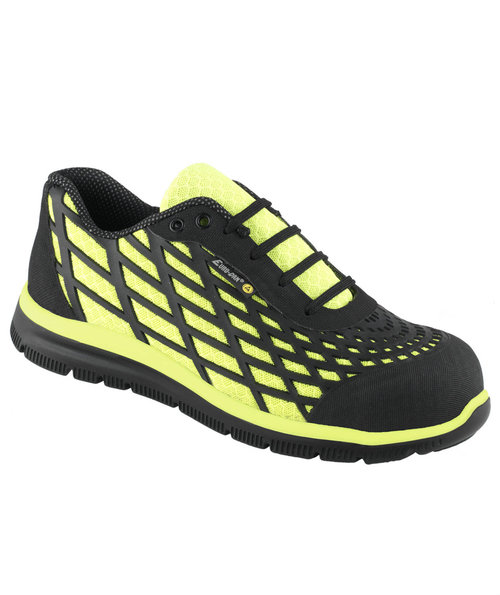 Euro-Dan Spider safety shoes S3, Black/Yellow