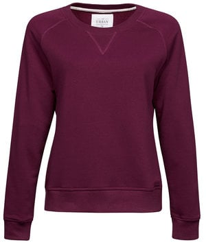 Tee Jays Urban women's sweatshirt, Wine