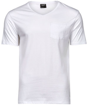 Tee Jays pocket T-shirt, White
