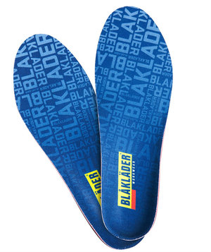 Blåkläder moldable insoles 4mm, Blue