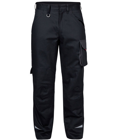 FE Engel Galaxy work trousers, Black/Anthracite