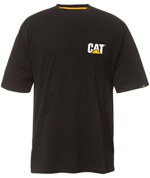 CAT Trademark Tee T-shirt, Sort